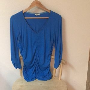 Cache rouched top